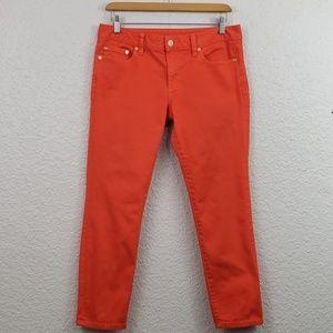 Tory Burch Alexa Skinny Crop Jeans size 28